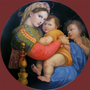 Madonna della Sedia   Arrowood After Raphael