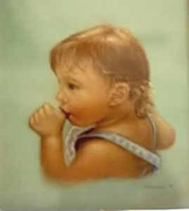 Hope - Jackson's Mom - Pastel on Paper 1989