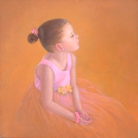 McKenna Dancing in Her Thoughts by Yvonne Herd Arrowood