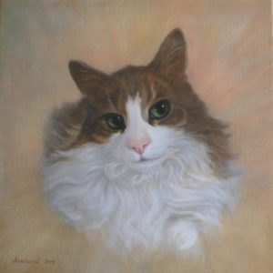 Sir Reginal, Master Feline of House Lucking By Yvonne Herd Arrowood